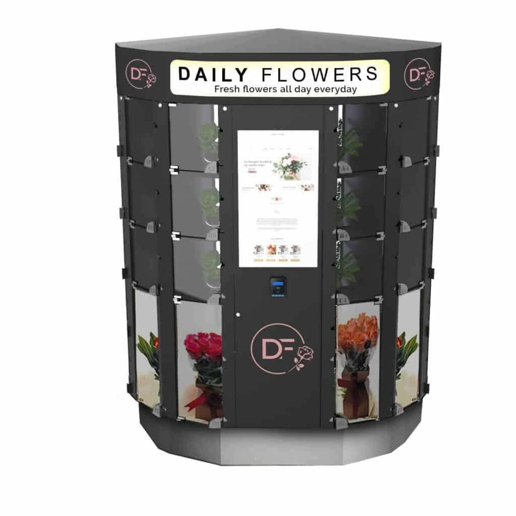 Daily Flowers machine