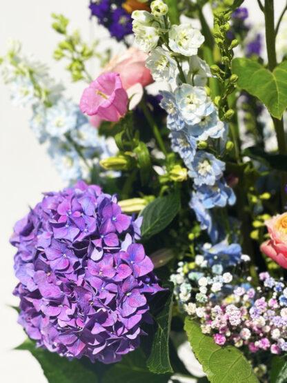Ingezoomd boeket bloemen