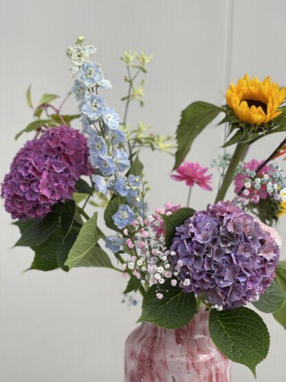 Ingezoomd bloemen boeket