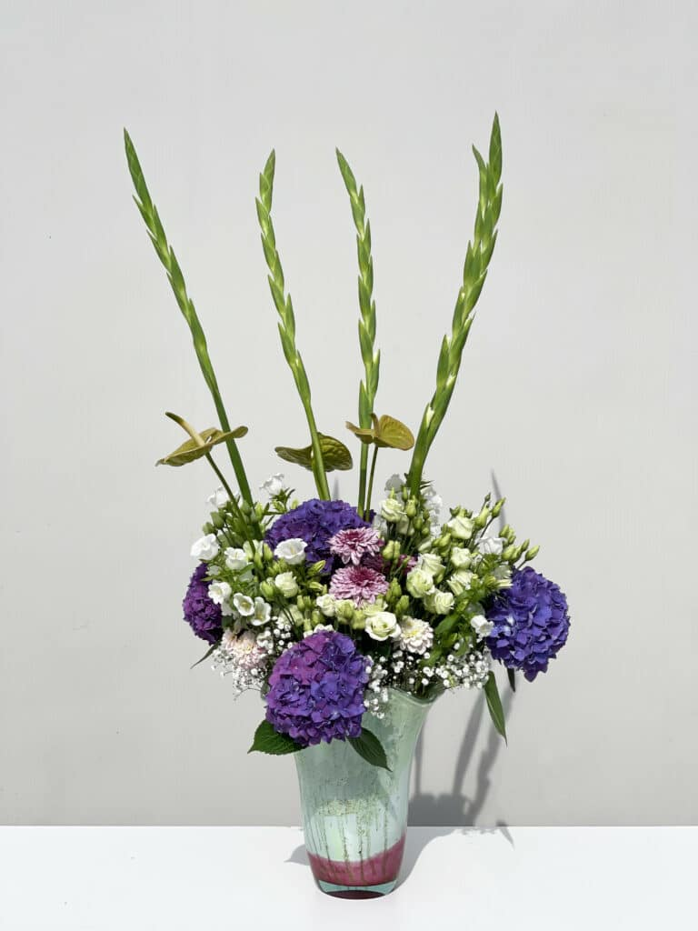 Daily Flowers - Gatsby style